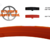 Delta Rockwell 20 in. Urethane Band Saw Tires BST426040945002SGT