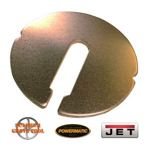 """Aluminum Table Inserts for 14"""" Jet / Powermatic Band Saws"""