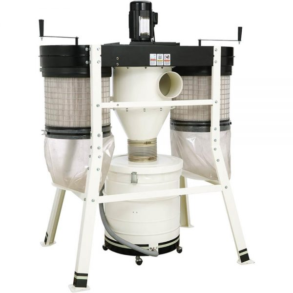 SHOP FOX 3 HP Low Profile Cyclone Dust Collector W1816