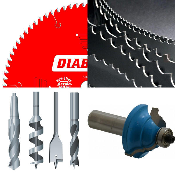 Saw Blades, Drill Bits & Knives