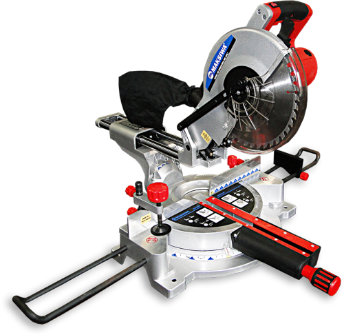 Maksiwa Miter Saw 250mm 10 With Laser Guide And Dual Sliding Rail