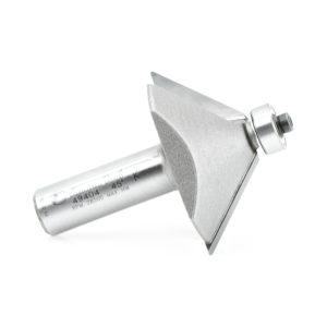 Amana Tool 49404 Carbide Tipped Chamfer 45 Degree x 1-31/32 Inch Dia x 3/4 x 1/2 Shank