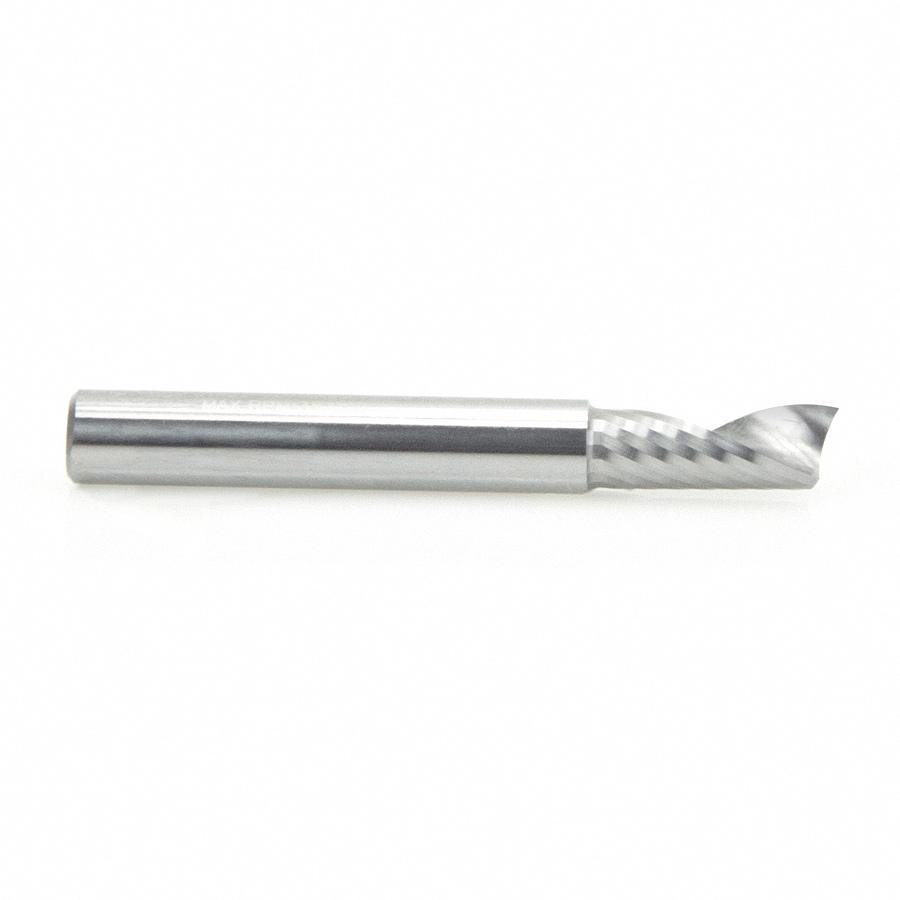 Amana Tool 51402 Solid Carbide CNC Spiral 'O' Flute, Aluminum Cutting 1/4  Dia x 5/8 x 1/4 Inch Shank Up-Cut