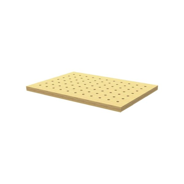 Armor Tool 36in x 25in Hard Maple Butcher Block Dog Hole Table Top BBTT-3625
