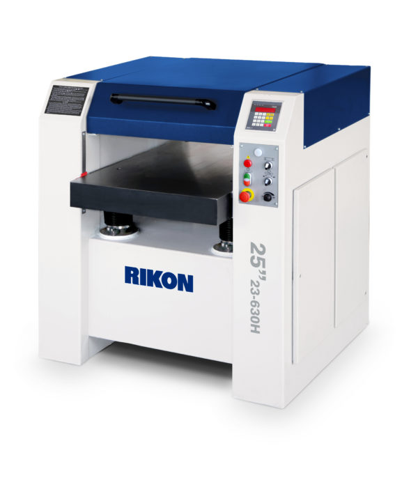 Rikon 25inch planer with helical cutter head