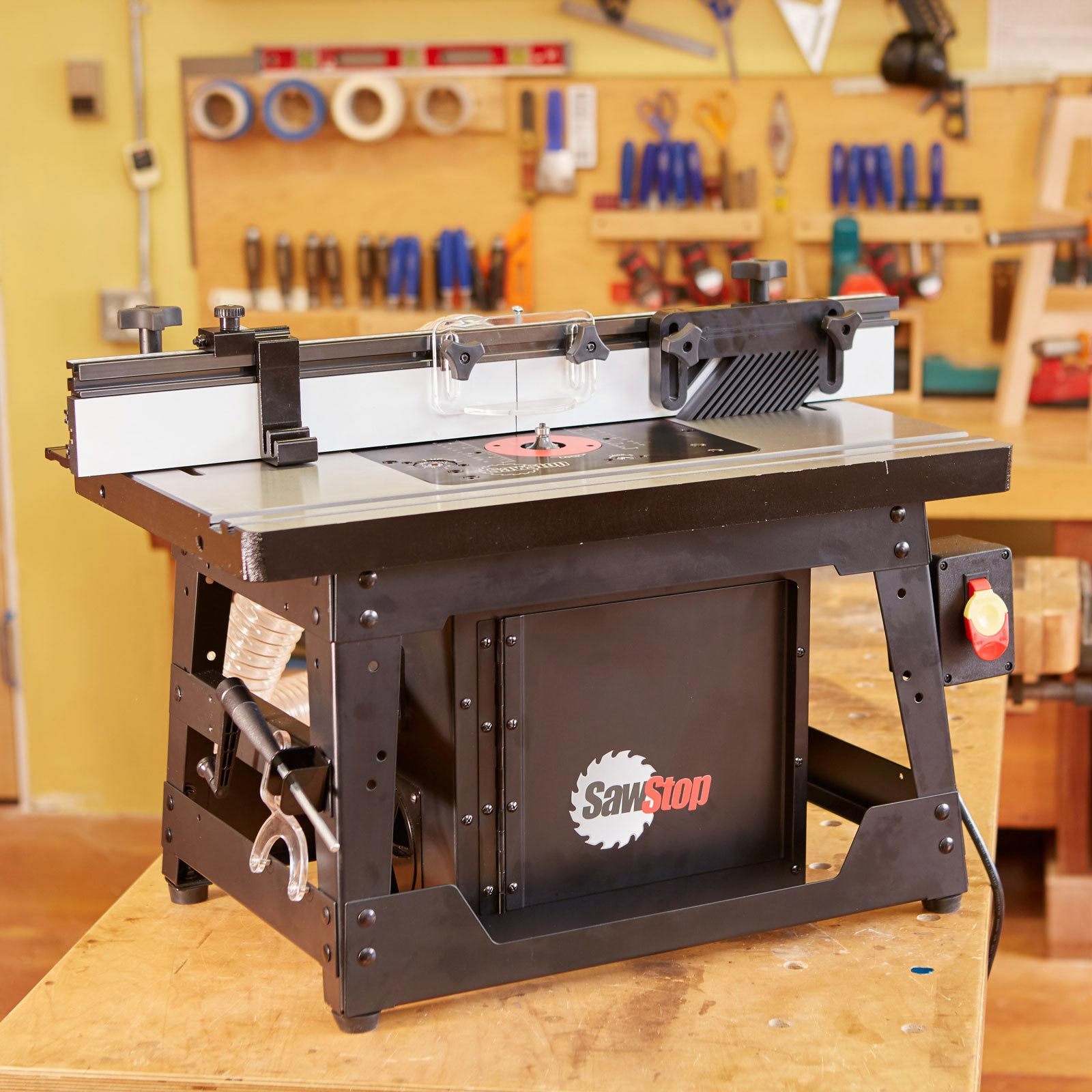 SAWSTOP Benchtop Cast Iron Router Table RT-BT - Sulphur ...