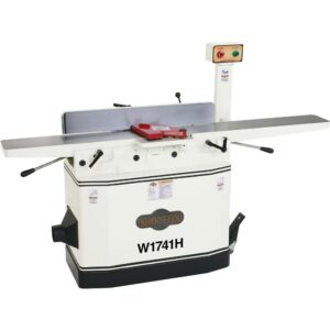 """Shop Fox W1741H 8"""" Jointer with Adjustable Beds and Helical Cutterhead"""