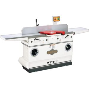"""Shop Fox W1744H—12"""" Heavy-Duty Jointer with Adjustable Beds and Helical Cutterhead"""