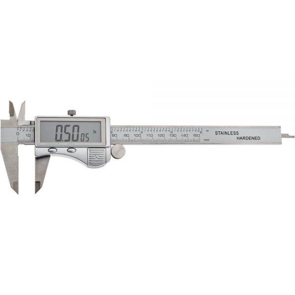 """Shop Fox 6"""" Decimal/Fractional Digital Caliper D4776"""
