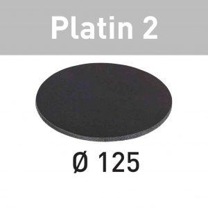 Festool Abrasive sheet STF D125/0 S4000 PL2/15 Platin 2 - Abrasive sheet Platin 2 STF D125